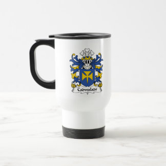 Escudo de la familia de Cadwaladr Tazas De Café