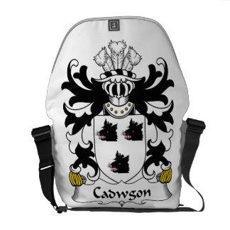 Escudo de la familia de Cadwgon Bolsas De Mensajeria