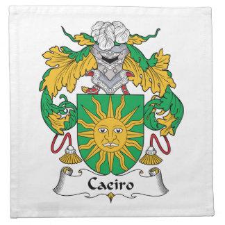 Escudo de la familia de Caeiro Servilletas De Papel