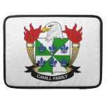 Escudo de la familia de Cahill Funda Para Macbook Pro