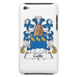 Escudo de la familia de Caille Barely There iPod Fundas