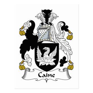 Escudo de la familia de Caine Postal