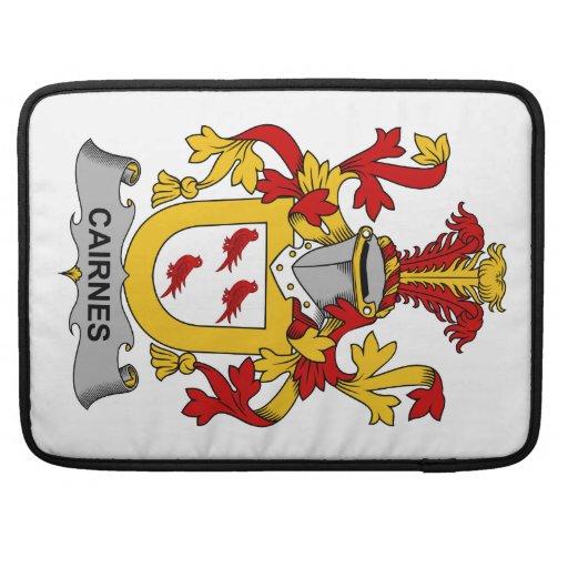 Escudo de la familia de Cairnes Funda Macbook Pro