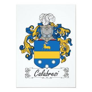 Escudo de la familia de Calabresi