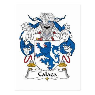 Escudo de la familia de Calaca Tarjetas Postales