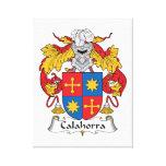 Escudo de la familia de Calahorra Impresiones De Lienzo
