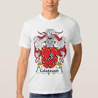 Escudo de la familia de Calatayud Camisas
