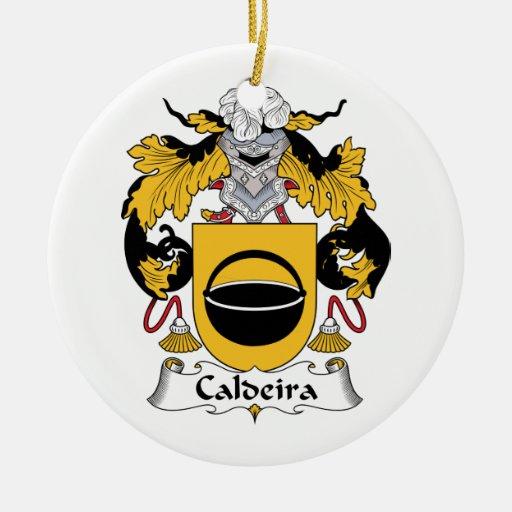 Escudo de la familia de Caldeira Ornamento De Reyes Magos