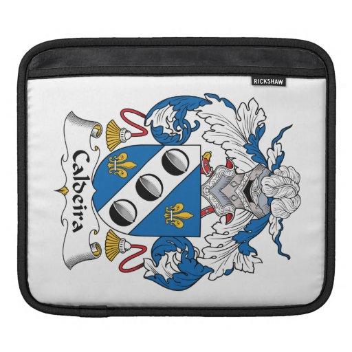 Escudo de la familia de Caldeira Fundas Para iPads