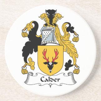 Escudo de la familia de Calder Posavasos Diseño