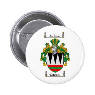 ESCUDO DE LA FAMILIA DE CALDWELL - ESCUDO DE ARMAS PINS