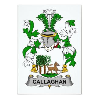 Escudo de la familia de Callaghan Invitacion Personal