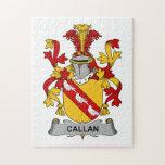 Escudo de la familia de Callan Puzzle