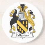 Escudo de la familia de Callander Posavasos Cerveza