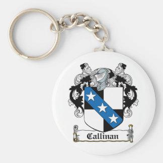 Escudo de la familia de Callinan Llavero Personalizado