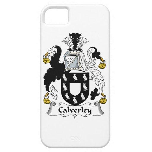 Escudo de la familia de Calverley iPhone 5 Case-Mate Carcasas