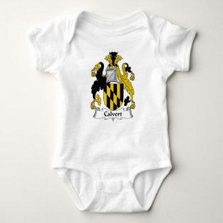 Escudo de la familia de Calvert Body Para Bebé
