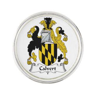 Escudo de la familia de Calvert Insignia