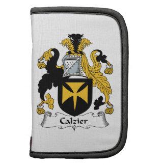 Escudo de la familia de Calzier Planificador