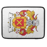 Escudo de la familia de Camara Fundas Para Macbook Pro