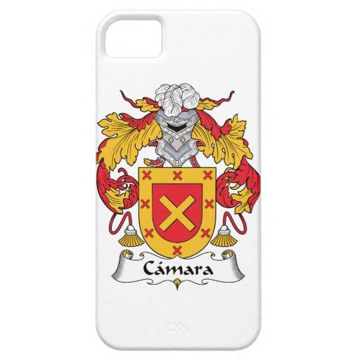 Escudo de la familia de Camara iPhone 5 Carcasa