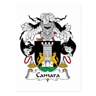 Escudo de la familia de Camara Postales