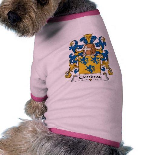 Escudo de la familia de Cambray Camisas De Perritos