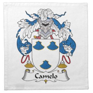 Escudo de la familia de Camelo Servilleta De Papel