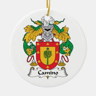 Escudo de la familia de Camino Ornamento Para Reyes Magos