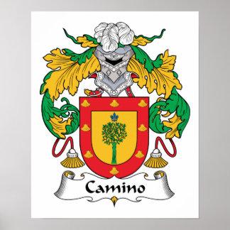 Escudo de la familia de Camino Posters
