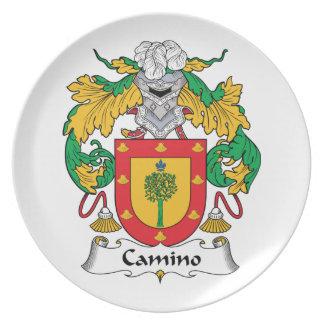 Escudo de la familia de Camino Platos De Comidas