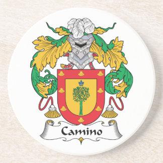 Escudo de la familia de Camino Posavasos Cerveza