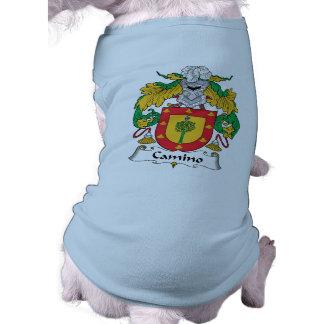 Escudo de la familia de Camino Camisas De Mascota