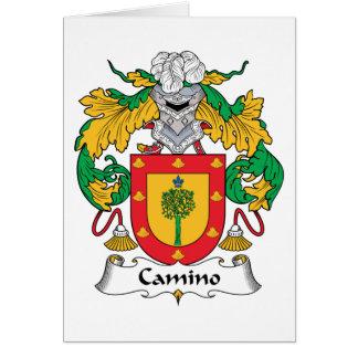 Escudo de la familia de Camino Tarjeton