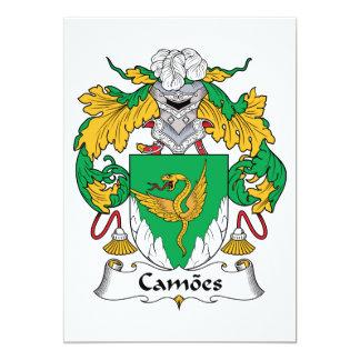 Escudo de la familia de Camoes Comunicado Personalizado