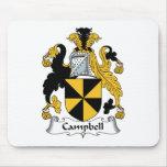 Escudo de la familia de Campbell Alfombrillas De Ratón