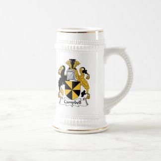 Escudo de la familia de Campbell Tazas De Café