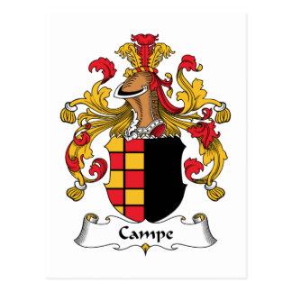 Escudo de la familia de Campe Postales