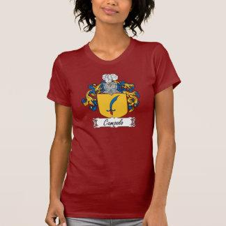 Escudo de la familia de Campolo Camisetas