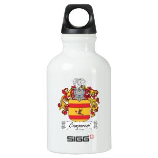Escudo de la familia de Camporesi Botella De Agua