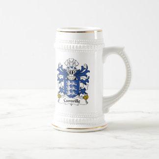 Escudo de la familia de Camville Tazas De Café