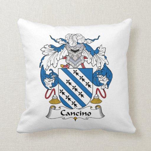 Escudo de la familia de Cancino Cojines