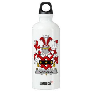 Escudo de la familia de Candell Botella De Agua