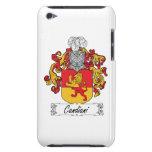 Escudo de la familia de Candiani iPod Touch Funda