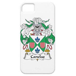 Escudo de la familia de Canelas iPhone 5 Case-Mate Protector