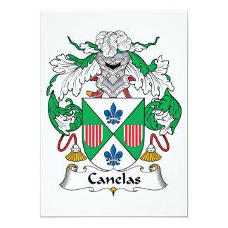 Escudo de la familia de Canelas Comunicados Personalizados