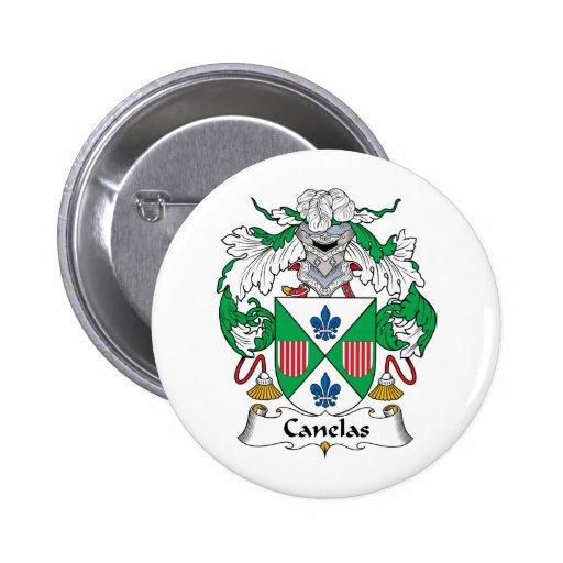 Escudo de la familia de Canelas Pins