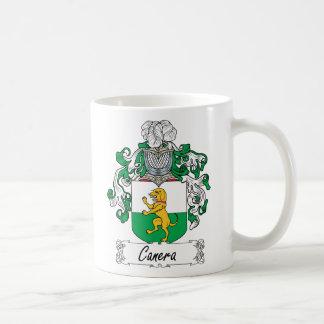 Escudo de la familia de Canera Tazas