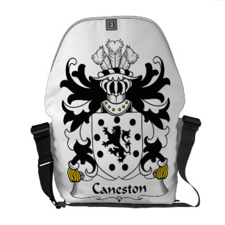 Escudo de la familia de Caneston Bolsas De Mensajeria