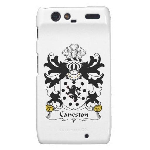 Escudo de la familia de Caneston Droid RAZR Carcasas